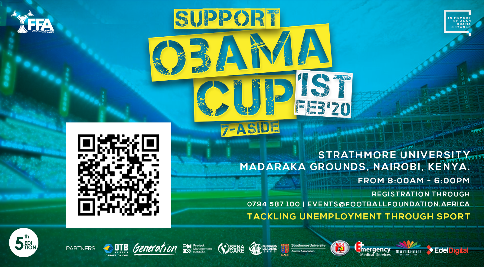 Support Obama Cup 2020